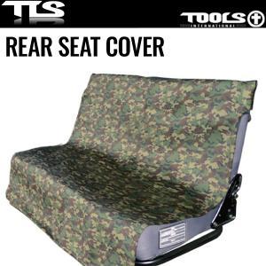 TOOLS リアシートカバー Green Camo TLS シートカバー グリーンカモ ツールス 後部座席用 ネオプレン サーフィン|x-sports