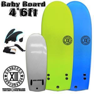 サーフボード ベイビーボード ボディボード ソフトボード ミニシモンズ ビート板 13SURF フィン リーシュ セット サーフィン 親子で遊べる|x-sports