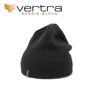 バートラ VERTRA ビーニー BEANIE キャップ リバーシブル ブラック グレー アクリル 帽子|x-sports