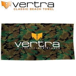 バートラ VERTRA タオル クラシック ビーチタオル CLASSIC BEACH TOWEL カモフラ柄 コットン100% バスタオル|x-sports