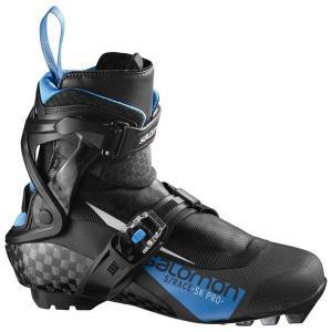 SALOMON サロモン クロスカントリースキー ブーツ SNS S/レーススケートプロ  399223 17-18モデル|xc-ski