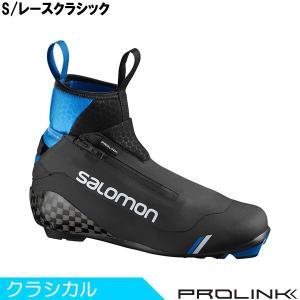 サロモン SALOMON クロスカントリースキー ブーツ プロリンク S/レースクラシック 408687 2019-2020モデル|xc-ski