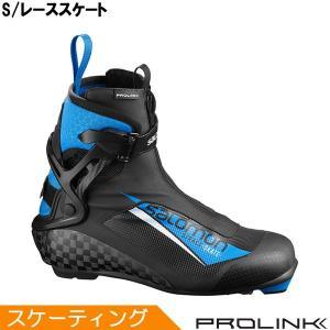 サロモン SALOMON クロスカントリースキー ブーツ プロリンク S/レーススケート 408813 2019-2020モデル|xc-ski
