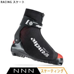 アルピナ ALPINA クロスカントリースキー ブーツ NNN RACING スケート 5324-1 2020-2021モデル|xc-ski