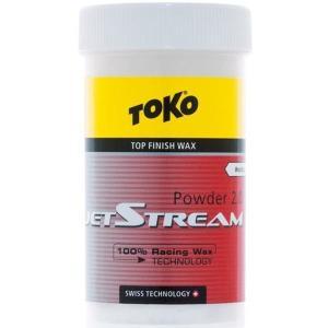 トコ TOKO ワックス スキー スノーボード クロスカントリースキー フッ素100% JetStream ジェットストリーム パウダー2.0 レッド 5503012|xc-ski