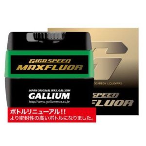 GALLIUM ガリウム WAX GIGA SPEED MAXフルオール(30ml)   GS3301 クロスカントリースキー|xc-ski