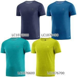 サロモン SALOMON Tシャツ メンズ アウトドア ドライ コズミッククルーTシャツ LC1076300 LC1076400 LC1076600 LC1076700 クロスカントリースキー店舗 xc-ski