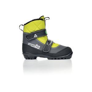FISCHER フィッシャー クロスカントリースキー ブーツ NNN スノースター イエロー S41016 16-17モデル|xc-ski