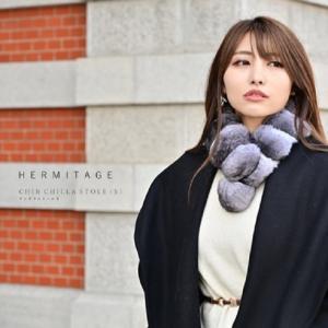 チンチラ 定番 サイズ 日本製 マフラー ストール 最高級毛皮 リアルファー ナチュラルカラー 大人 女子 綺麗目 ファッション JAPAN ティペット 送料無料|xgszp74605