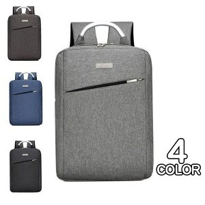 ビジネスリュック メンズ 大容量 バックパック リュックサック 通勤バッグ 通学 スクエア キャンバス カバン 鞄|xhkyafu-ten