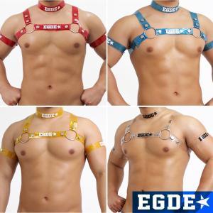 EGDE← CLEAR HARNESS ハーネス チョーカー 両腕アームバンド 4点set|xlove0091