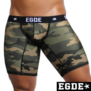 EGDE← CAMOUFLAGE サイドライン スーパーローライズ ロングボクサーパンツ|xlove0091