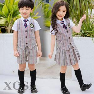 可愛いフォーマル 卒業式 スーツ 女の子 小学生 幼稚園 5点セット 女の子 入学式 韓国 子供服 ...