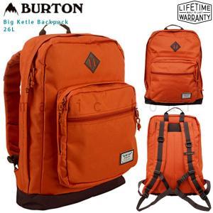 バートン BURTON リュック バックパック Big Kettle Pack 26L メンズ レディース リュックサック お洒落 バック 登山 アウトドア 大容量 旅行 PC 収納 xover-int