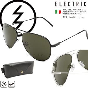 ELECTRIC エレクトリック UVカット サングラス メンズ レディース ブルーライト レンズ 黒 シルバー ティアドロップ レトロ おしゃれ ブランド イタリア製|xover-int