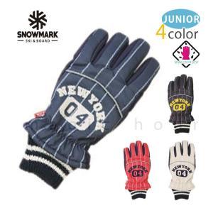 スキー スノーボード グローブ ジュニアサイズ スノボ 防水 スノーグローブ 防水インナー内蔵 手袋 ロゴ レッド ネイビー ブラック グレー xover-int