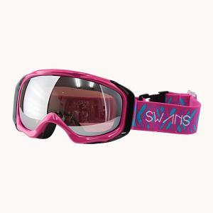 SWANS(スワンズ)スキーダブルレンズゴーグル  ピンク 〔070mdhs-pin〕|xstyle