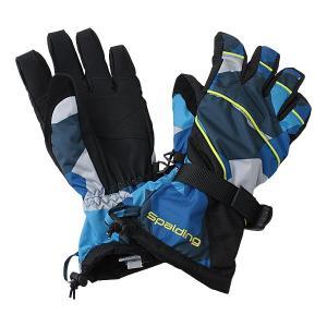 SPALDING(スポルディング)ボーイズ スキーグローブ  ブルー 〔14gspb351-blue〕