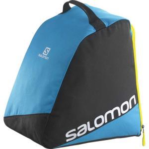 【20%OFF】【SALOMON】 2016-2017   ORIGINAL BOOTBAG ブーツバック 32L BLACK/PROCESS BLUE/WHITE 〔bag1607-l36290300〕|xstyle