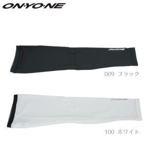 ONYONE(オンヨネ) メンズ ハイグレーターリフレクトメッシュアームカバー  ブラック 〔bka97950-009〕|xstyle