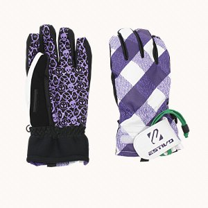 【ESTIVO(エスティボ)】 スノーボード メンズ 男性用グローブ 手袋  ロイヤルバイオレット 〔ev2803-rt〕 xstyle