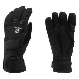 【SALOMON】 ICON GORE-TEX M  スキーインナーグローブ BLACK 〔glo1602-l37607100〕|xstyle
