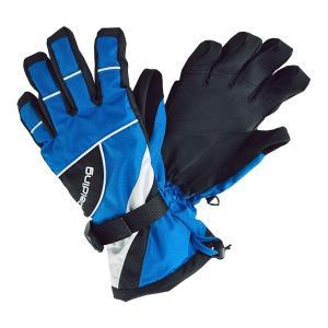 SPALDING(スポルディング)ジュニアボーイズ スキーグローブ ボードグローブ 手袋  ブルー 〔gspb-350-blue〕|xstyle