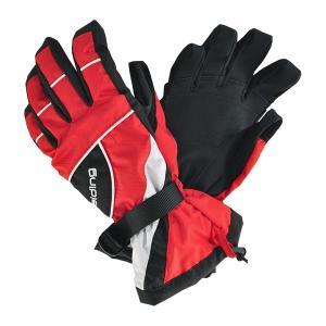 SPALDING(スポルディング)ジュニアボーイズ スキーグローブ ボードグローブ 手袋  レッド 〔gspb-350-red〕|xstyle
