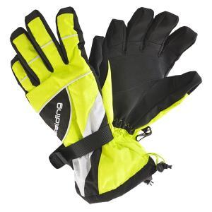 SPALDING(スポルディング))  大人用スキーグローブ ボードグローブ 手袋  ライム 〔gspb-350ad-lime〕|xstyle