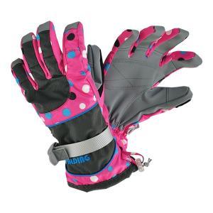 SPALDING(スポルディング))  大人用スキーグローブ ボードグローブ 手袋  チャコール 〔gspb-451ad-charcoal〕|xstyle