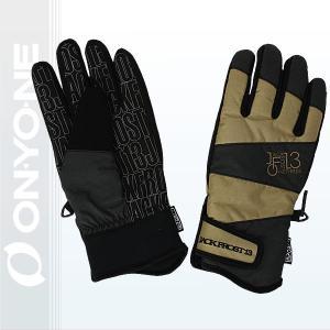 JACKFROST13(ジャックフロスト13)GIMMICK GLOVE スノーボードグローブ メンズ レディース(ユニセックス)手袋 SAND 〔jfa95000-198009〕|xstyle