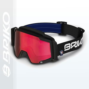 30%OFF セール スキーゴーグル 大人 メンズ レディース MAGMATICA-7.6 マグマチカ7.6 BRIKO ブリコ MATT CARBON BLACK 〔jg0004-14-n001〕|xstyle