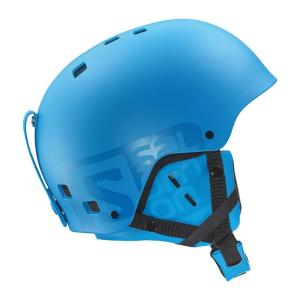 【SALOMON】BRIGADE スキーヘルメット BLUE MATT 〔met1606-l37776400〕|xstyle