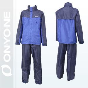 レインウェア ONYONE(オンヨネ)メンズレインスーツ   ブルー/ネイビー (ogs96100-684699) xstyle