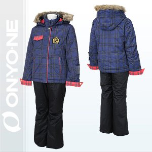 オンヨネ レセーダ ガールズ スキーウェア NAVY/BLACK (ons66002-699p009) 130 140 150 160|xstyle