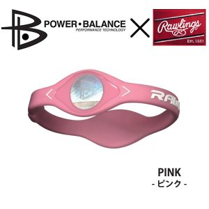 Rawlings(ローリングス)PBWRIST パワーバランスコラボレーションバンド  ピンク 〔pbwrist-pink〕 xstyle