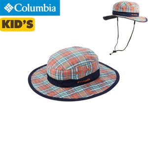 Columbia(コロンビア) SICKAMORE JR. BOONEY シッカモアジュニアブーニー【キッズ】【ジュニア】 RED ELEMENT PLAID〔pu5205-611〕|xstyle