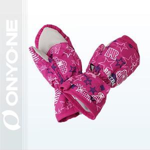 ONYONE(オンヨネ)レセーダ トドラ スキーミトングローブ   PINK 〔rea57103-974p〕|xstyle