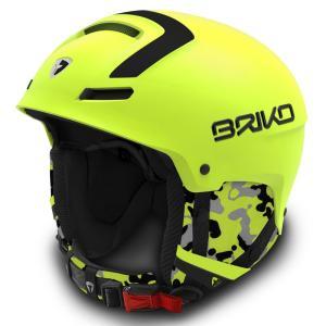 30%OFF セール BRIKO(ブリコ)FAITO ファイト フリーライド スキーヘルメット 2016-2017w マットイエローフロー 〔sh0019-16-y016〕|xstyle