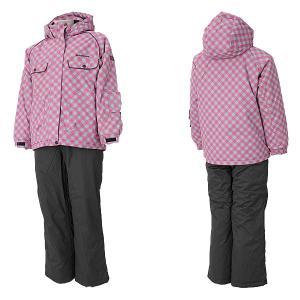 サウスライン 女の子 スキーウェア  ピンク 〔slg-4451-pink〕|xstyle