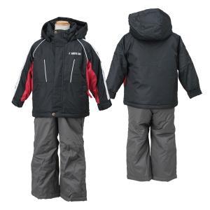 SOUTHLINE(サウスライン) キッズ 男の子 スキーウェア  ブラックxチャコール 〔slt-2552-blackxchar〕|xstyle