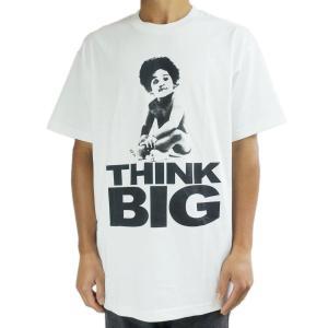 メンズ TシャツNOTORIOUS B.I.G TEEBIGGIE SMALLS THINK BIG...