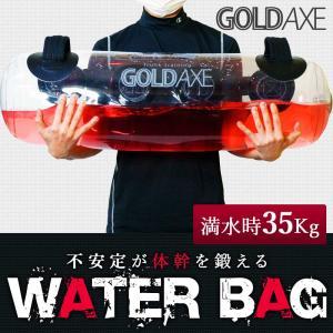 【メーカー純正品】GOLDAXE ウォーターバッグ 体幹トレーニング 器具 水 筋トレ ダイエット ...