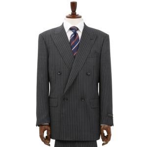 秋冬用 グレー系  アウトレット 現品限り ダブルブレスト スタンダードスーツ CHRISTIAN ORANI|y-aoyama