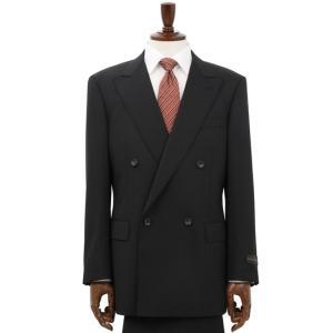 秋冬用 ブラック系  アウトレット 現品限り ダブルブレスト スタンダードスーツ CHRISTIAN ORANI|y-aoyama