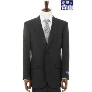 春夏用 ブラック系  ウォッシャブル  形状記憶プリーツ スタンダードスーツ STUART KENT|y-aoyama