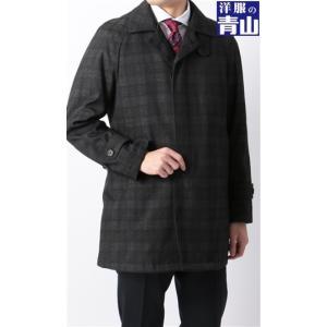 スリーシーズン用 グレー系  アウトレット 現品限り 合繊  ステンカラー スタイリッシュコート PERSON'S FOR MEN|y-aoyama