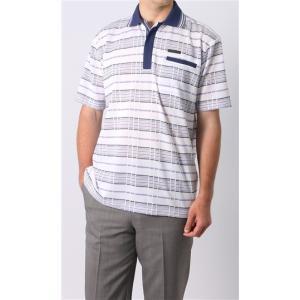 ホワイト系  吸汗速乾  半袖 ポロシャツ DUNLOP|y-aoyama