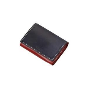 ネイビー系  バイカラー  パス  コイン カードケース ATELIER SAB MEN|y-aoyama