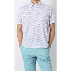 盛夏用 ホワイト系  吸汗速乾  半袖 ポロシャツ CHRISTIAN ORANI|y-aoyama